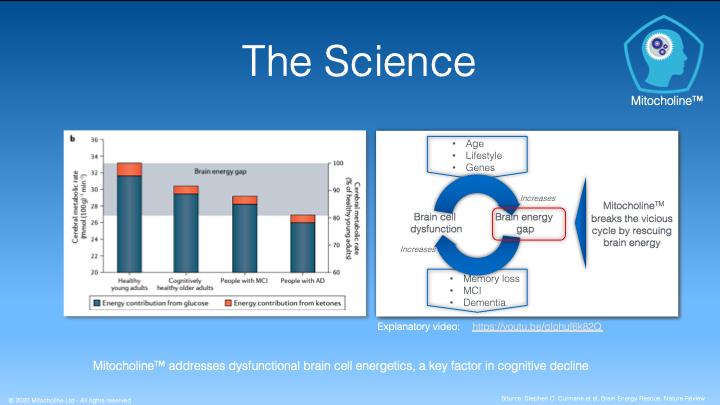 Brain Energy Gap